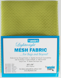 Mesh Fabric - Apple Green - By Annie