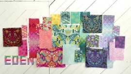 Fat Quarters - 22 - Eden - Tula Pink -