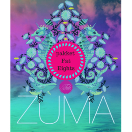 Zuma - Pakket Fat Eights (24) - Tula Pink