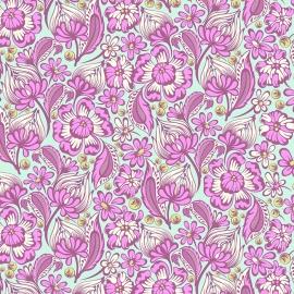 Tula Pink - PWTP079 - Wild Vines Raspberry