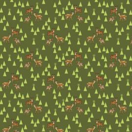 Bambi Life - Pinefresh - FNTP003 - Tula Pink