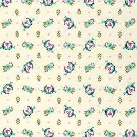 Tula Pink - PWTP089 - Blue Raspberry Winner's Circle
