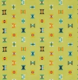 Tula Pink - PWTP043 - Arrowheads - Lime