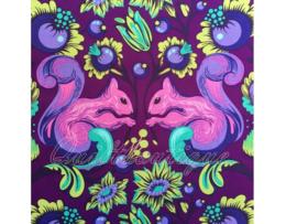 Tula Pink - PWTP028 - Squirrel Foxglove