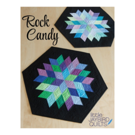 Rock Candy Table Runner - Pattern - Jaybird Quilts
