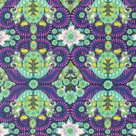 Tula Pink - PWTP085 - Blue Raspberry The Tortoise