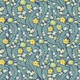 Tula Pink - PWTP073 - Wildflower Sapphire
