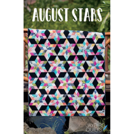 August Stars - pattern -Jaybird Quilts