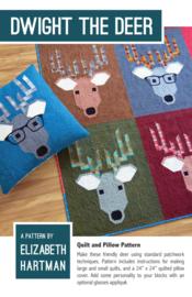 Dwight the Deer - patroon - Elizabeth Hartman
