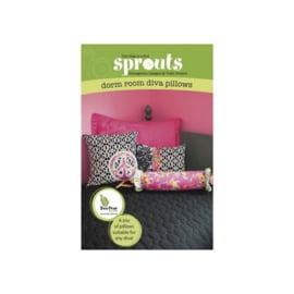 Trish Preston - Dorm Room Diva Pillows - Patroon