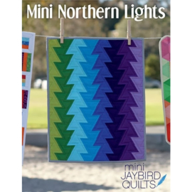Mini Northern Lights - pattern - Jaybird Quilts