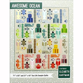 Awesome Ocean - Pattern book - Elizabeth Hartman