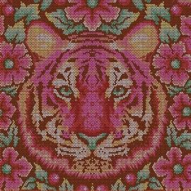 Tula Pink - PWTP077 - Crouchin Tiger Tourmalin