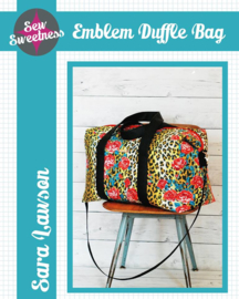 Sew Sweetness - Emblem Duffle Bag - Patroon