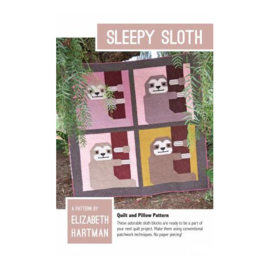 Sleepy Sloth - pattern - Elizabeth Hartman