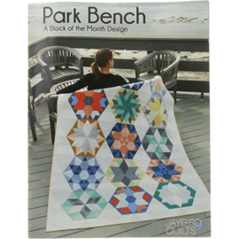 Park Bench - Block of the Month - patternbook