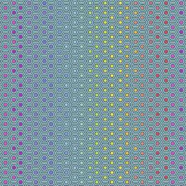 Hexy - Rainbow Peacock - PWTP151 - Tula Pink