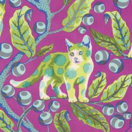 Tula Pink - PWTP092 - Disco Kitty Berrybird