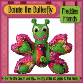 Bonnie the Butterfly - Patroon