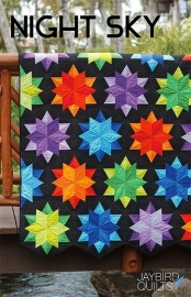 Night Sky, Jaybird Quilts PATROON