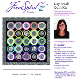 Day Break - Quilt Kit - Linework - Tula Pink