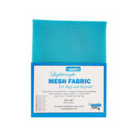 Mesh Fabric - Parrot Blue - By Annie