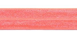Fold-Over Elastic - 20 mm - peach