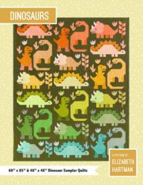Dinosaurs - patroonboek - Elizabeth Hartman