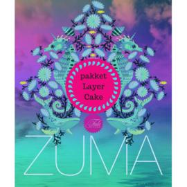 Zuma - Pakket Layer Cake (24) - Tula Pink