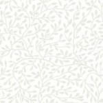 Mini Leaf - White on White - Makower