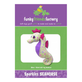 Sparkles Seahorse - Funky Friends Factory - patroon