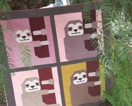 Sleepy Sloth - patroon - Elizabeth Hartman