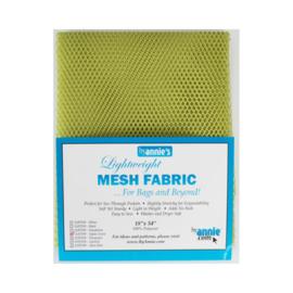 Mesh Fabric - Apple Green - By Annie