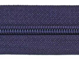 Rits van de rol - Navy - per meter