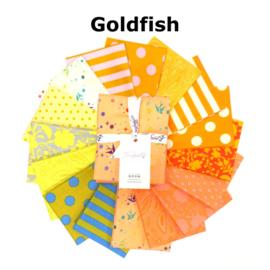 Goldfish - mix 16 FQ True Colors - Tula Pink