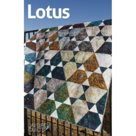 Lotus - pattern - Jaybird Quilts
