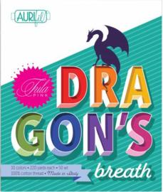 Dragons Breath - 10 klosjes - Aurifil /Tula Pink