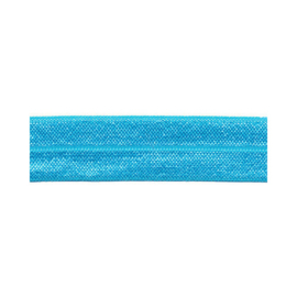 Fold-Over elastic - 20 mm - Aqua