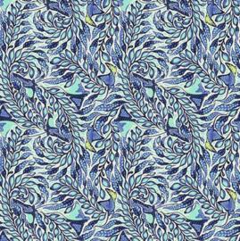 Stingray - Aqua Marine - PWTP123 - Tula Pink