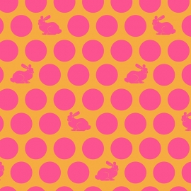 Tula Pink - PWTP049 - Happy Dots Sunrise