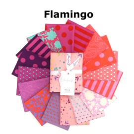 Flamingo - mix 16 FQ True Colors - Tula Pink