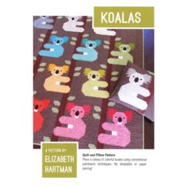Koalas - patroon - Elizabeth Hartman
