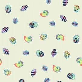 Sea Shells - Aqua Marine - PWTP121 - Tula Pink