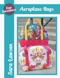 Sew Sweetness - Aeroplane Bag - Patroon
