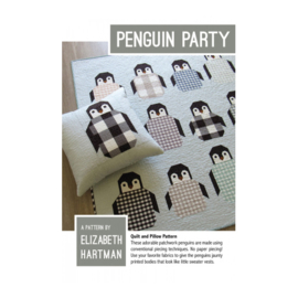 Penguin Party - pattern - Elizabeth Hartman