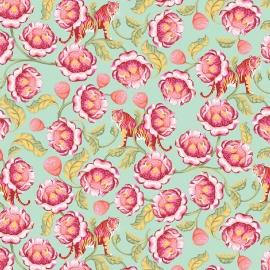 Tula Pink - PWTP071 - Lotus Tomato