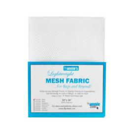 Mesh Fabric - White - By Annie