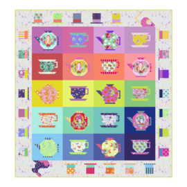 Mad Hatter's Tea Party Quilt - KIT - Tula Pink