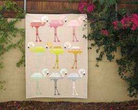 Florence Flamingo - patroon - Elizabeth Hartman