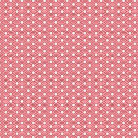 Hexy - Flamingo - PWTP150 - Tula Pink